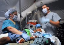 Nurse Anesthetist working