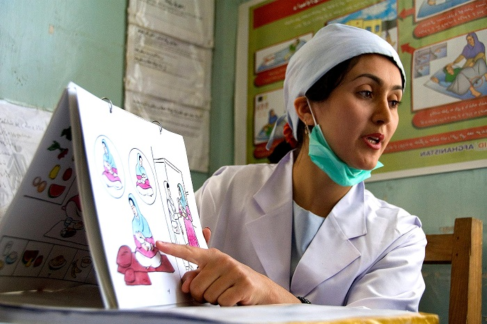 midwife at work