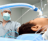 pediatric anesthesiologist during surgery
